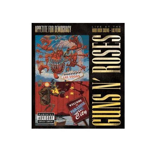 Universal music poland Appetite for democracy: live at the hard rock casino (0602537859160)