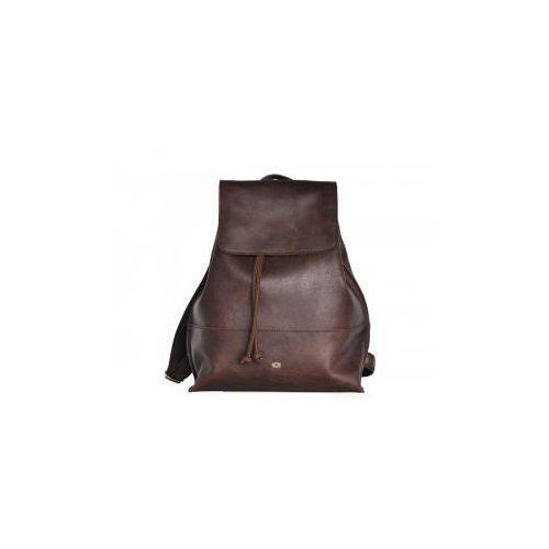 FUNKY GO! 21 plecak skóra naturalna firmy Daag na ramię z miejscem na notebook unisex, funky go-21