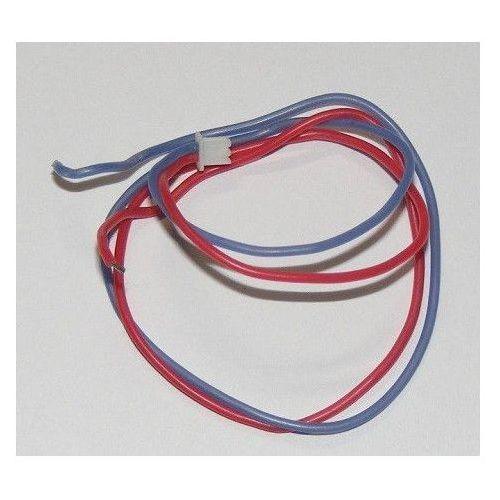Przewody z wtyczką (czerwony i niebieski) do silników, diod LED, do mini dronów i helikopterów, W608-7-023 (4760825)