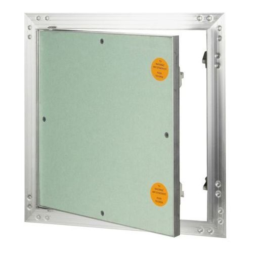 Klapa rewizyjna aluminiowa Diall z płytą g-k 40 x 40 cm, KRAL12