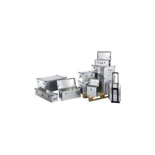 Zarges Zestaw pojemników uniwersalnych z aluminium,zestaw 3 pojemników