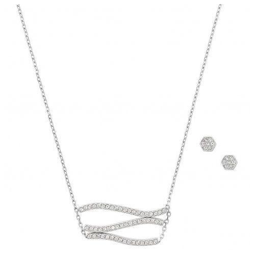 Biżuteria - naszyjnik mkj6899040 + kolczyki marki Michael kors
