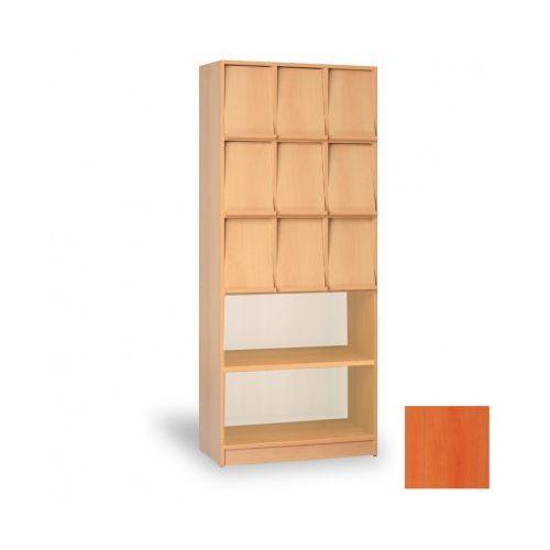 Szafa na ulotki - 9 półek prezentacyjnych/2 zwykłe półki