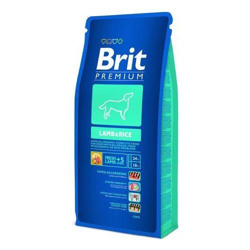 BRIT Premium Lamb&Rice 15KG z kategorii Karmy dla psów