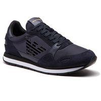 Sneakersy - x4x215 xl198 t370 navy/d.navy/d.navy, Emporio armani, 40-45