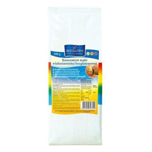 Bezgluten Koncentrat mąki wieloziarnistej 500g owy bezgluten