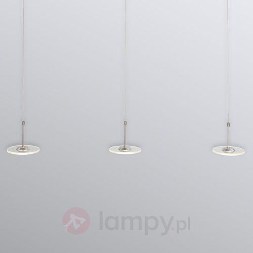 Steinhauer santander led lampa wisząca stal nierdzewna, 3-punktowe - nowoczesny - obszar wewnętrzny - led - czas dostawy: od 4-8 dni roboczych