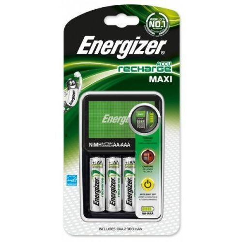 ładowarka Energizer Maxi + 4 x R6/AA 2300 mAh