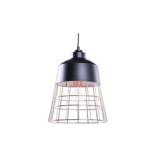 Lampa wisząca czarno-miedziana MONTE (4260580921188)
