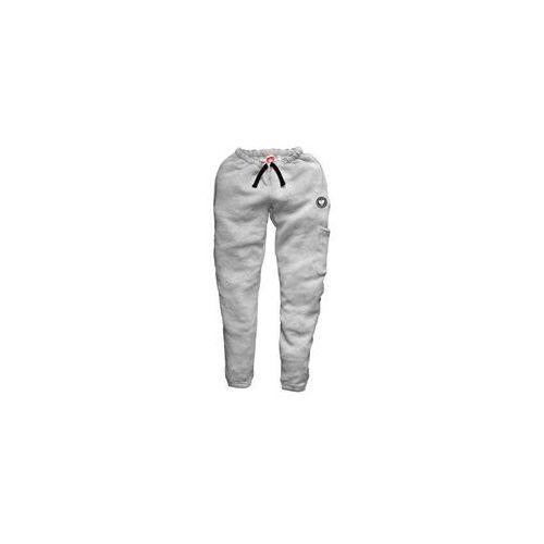 Ultrapatriot / polska Spodnie ultrapatriot dresowe jasny melanż (sm.ulp.5)
