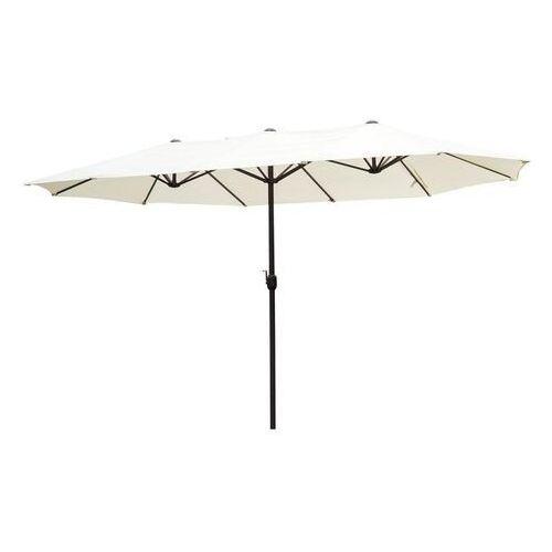 Parasol ogrodowy podwójny 460x270cm z podstawa marki Aosom