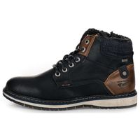 Tom Tailor buty za kostkę męskie 44 czarny (4058219504983)