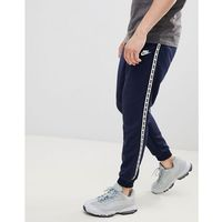 Nike Taping Skinny Fit Joggers In Navy AR4912-451 - Navy, kolor szary