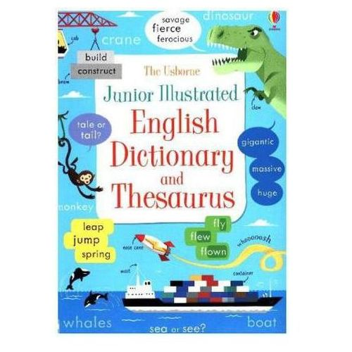Junior Illustrated English Dictionary and Thesaurus (9781474924481)