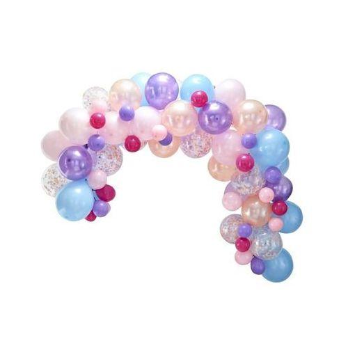 Zestaw balonów pastelowych do girlandy balonowej - 80 szt. (5055995995324)
