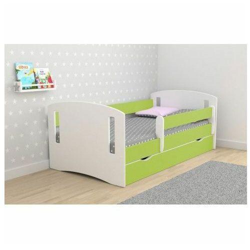 Łóżko dziecięce z szufladą pinokio 3x 80x180 - zielone marki Producent: elior