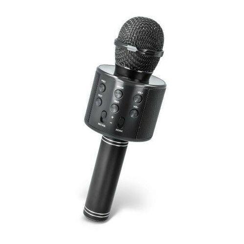 Mikrofon bluetooth z głośnikiem Forever BMS-300 czarny (5900495703682)
