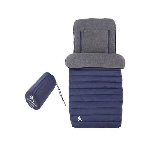 Cuddleco okrycie na nóżki comfi-snug 2w1, blue