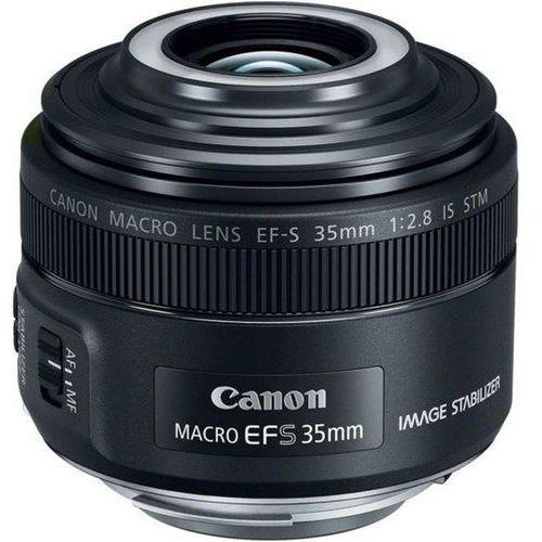 Canon EF-S 35mm f/2.8 Macro IS STM SLR Macro lens Czarny