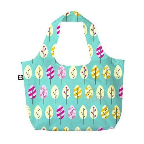 eco bags eco torba na zakupy 3w1 - pastel trees marki Bg berlin