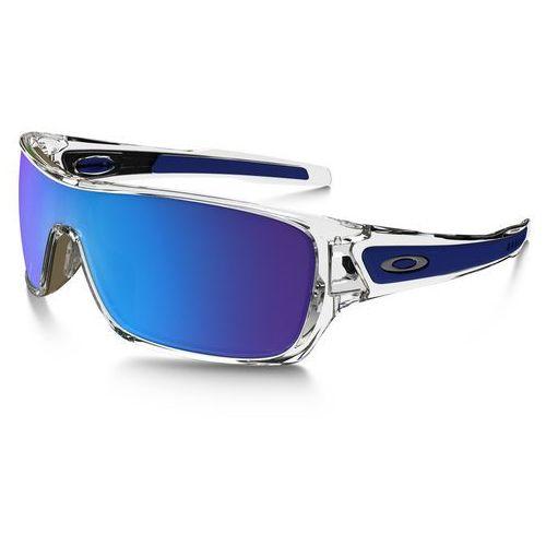 Oakley turbine rotor okulary rowerowe niebieski/przezroczysty okulary