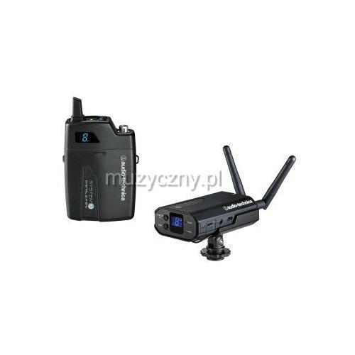 atw-1701p system 10 cyfrowy system bezprzewodowy na kamerę z mikrofonem lavalier wyprodukowany przez Audio technica