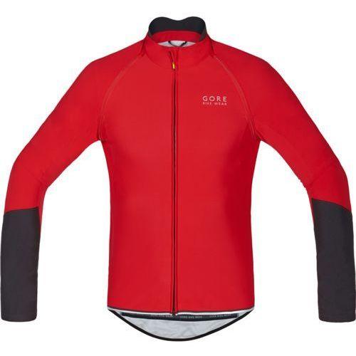 GORE BIKE WEAR Power Koszulka kolarska Mężczyźni czerwony XL Koszulki rowerowe z długim rękawem (4017912856218)