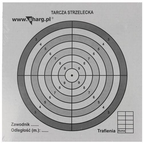 Tarcze strzeleckie sharg 140x140mm 100szt (100-02) marki Sharg products group