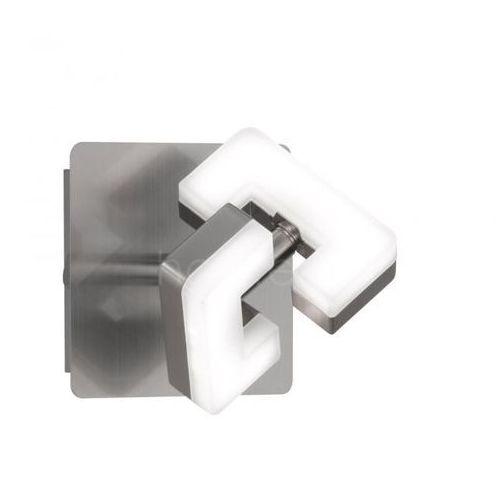 Wofi zara kinkiet led nikiel matowy, 1-punktowy - nowoczesny/design - obszar wewnętrzny - zara - czas dostawy: od 3-6 dni roboczych