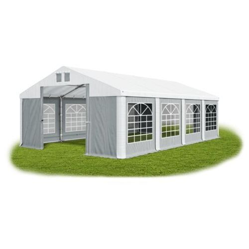 Namiot 4x8x2, całoroczny namiot cateringowy, winter/sd 32m2 - 4m x 8m x 2m marki Das company