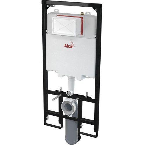 am1101/1200 slim zestaw podtynkowy wc - tylko 84mm grubości! marki Alcaplast