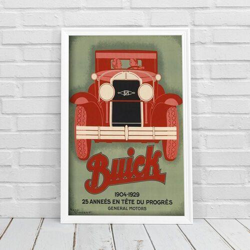 Plakat w stylu vintage Plakat w stylu vintage Rene Vincent Buick Automobile