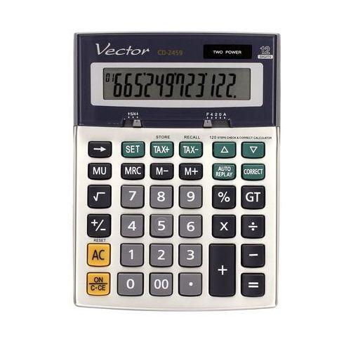 Kalkulator 12pozycyjny CD2459 Vector, ZI5312. Najniższe ceny, najlepsze promocje w sklepach, opinie.