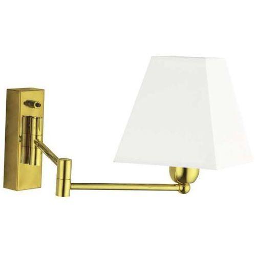 Amplex Kinkiet lampa ścienna rotto ii 601 abażurowa oprawa klasyczna na wysięgniku regulowana złota (1000000550047)
