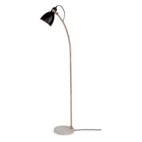 Lampa podłogowa denver - różne kolry czarny/miedziany marki It's about romi