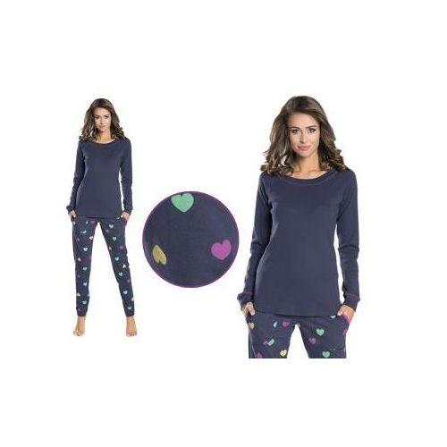 Piżama damska AMI: granat