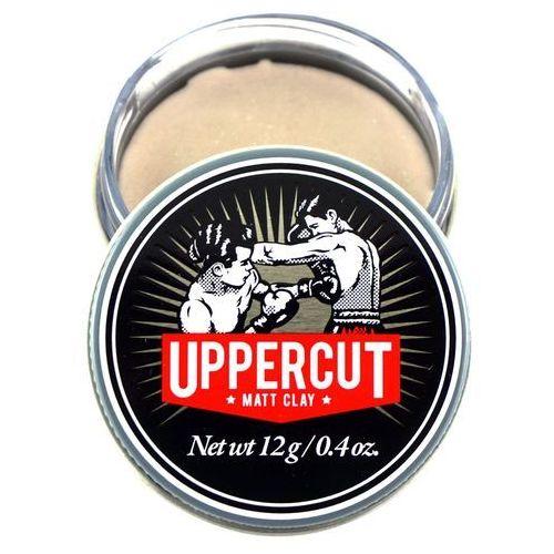 Matowa pasta do włosów - matt clay - 12g - uppercut deluxe marki Kosmetyki uppercut