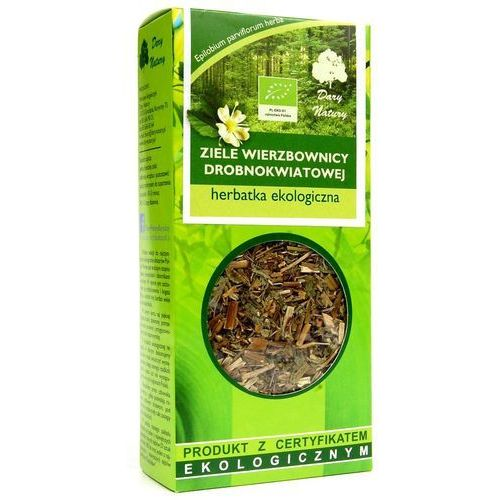 Dary natury - herbatki bio Herbatka z ziela wierzbownicy drobnokwiatowej bio 50 g - dary natury