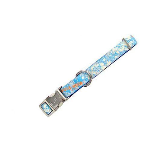 Zolux Obroża Envy Hula Reflect 10mm niebieska [466270BL]