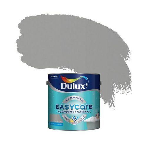 Farba wewnętrzna EASYCARE KUCHNIA I ŁAZIENKA 2.5 l Mocny grafit DULUX, 5249596