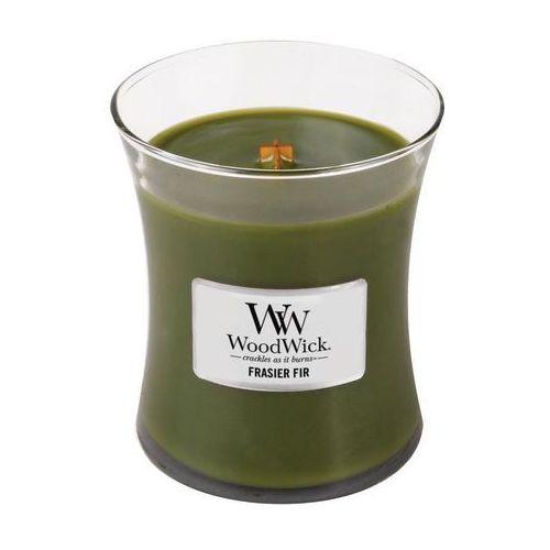 - świeca średnia frasier fir 100h marki Woodwick