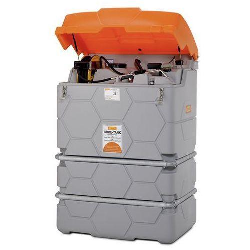 Zbiornik na oleje cube, outdoor premium, ze składaną pokrywą, poj. 1000 l. z pok marki Cemo
