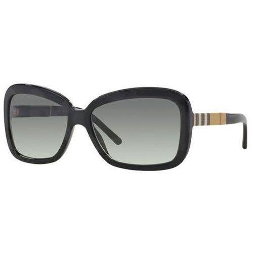 Okulary Słoneczne Burberry BE4173F Asian Fit 300111, kolor żółty