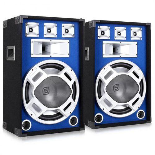para głośników pa 38cmniebieski efekt świetlny 2x800w marki Skytronic