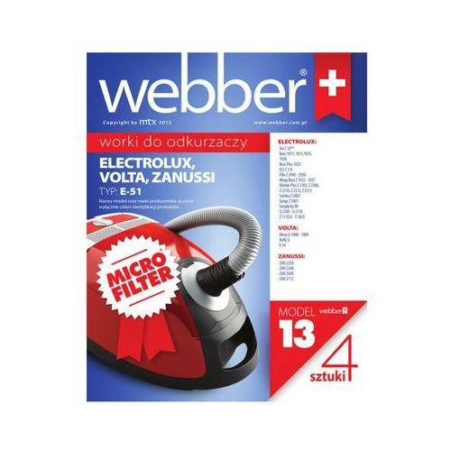 Webber Worek do odkurzacza 75 (5 sztuk)