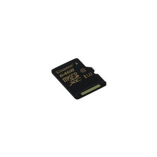 Karta pamięci Kingston MicroSDXC 64GB UHS-I U3 (90R/45W) (SDCG/64GBSP) Czarna