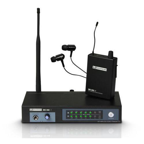 LD Systems MEI ONE 2, bezprzewodowy, douszny system monitorowy (864.100 MHz)