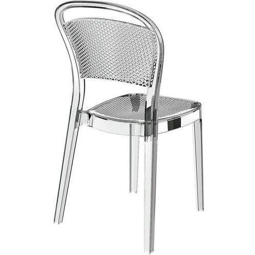 Resol Krzesło visual - transparentny (8411344607312)
