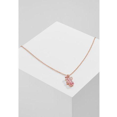 Ted Baker BLAEKE BAGUETTE PENDANT Naszyjnik rose goldcoloured/light rose (5055336330128)