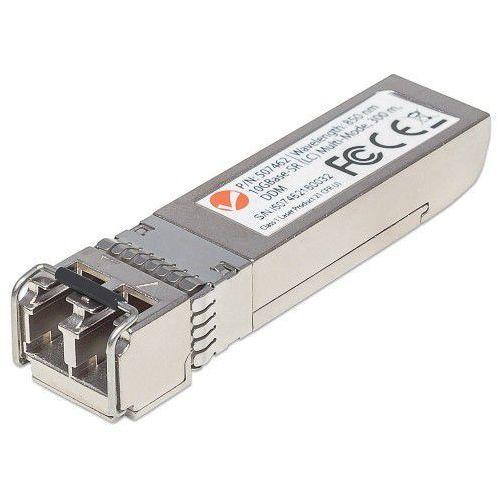 moduł mini gbic sfp+10g base-sr lc wielomodowy 850nm marki Intellinet